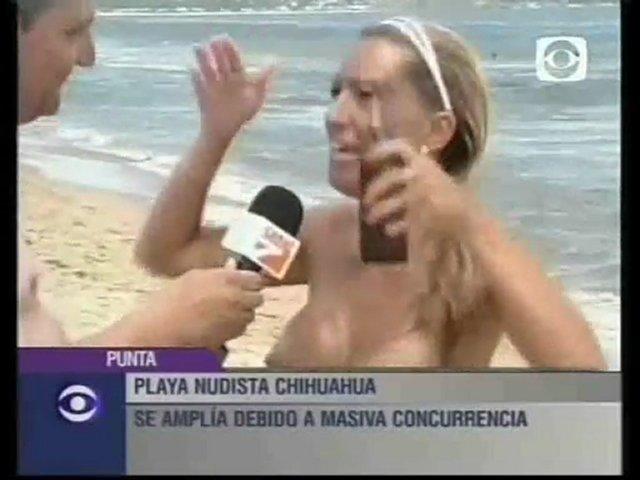 Playa nudista Chihuahua cercana a Punta del Este Uruguay | PopScreen