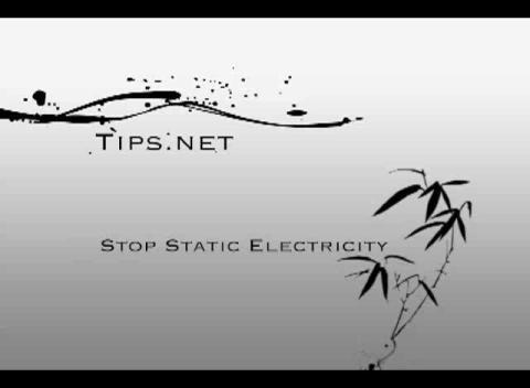 Stop Static Electricity | PopScreen