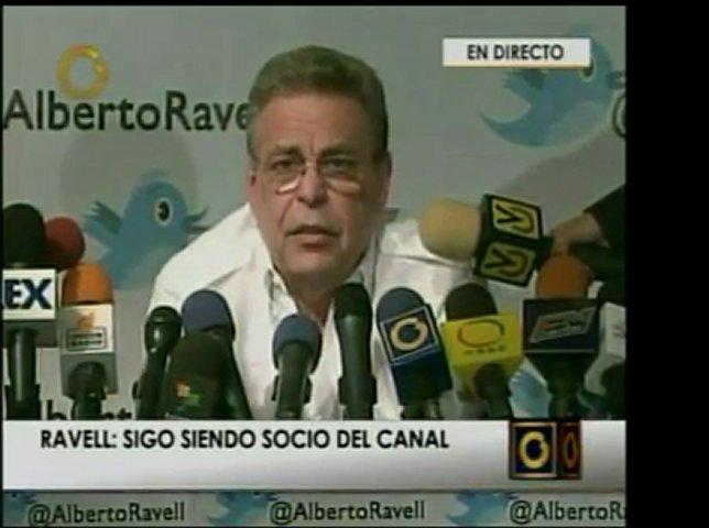 Rueda de prensa del ex director de Globovision, Alberto Fede | PopScreen