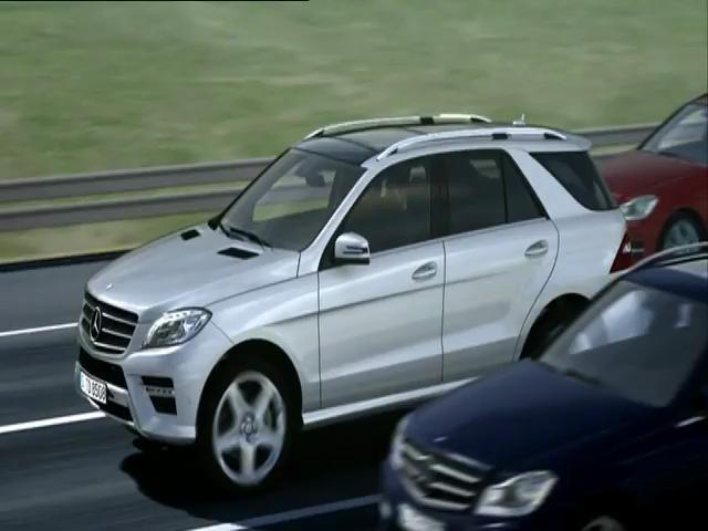 Mercedes benz distronic plus and break plus technology for Mercedes benz distronic plus