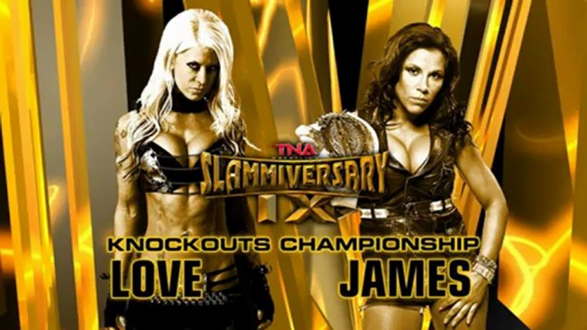 The Warriors of Impact Wrestling (TNA) Mickie James and Velvet Sky