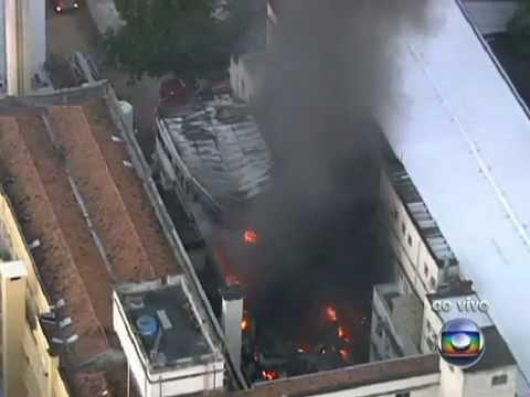 Incêndio No RJ Atinge Hospital Universitário | PopScreen
