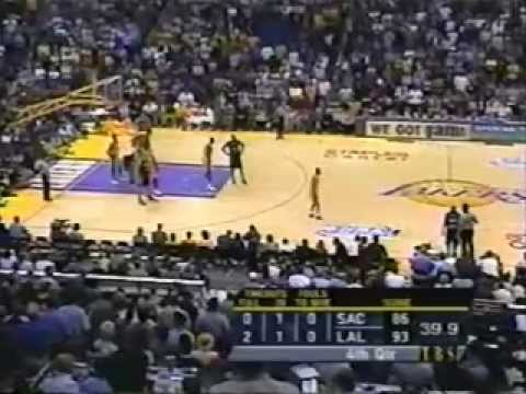 2001 NBA Playoffs: Kings at Lakers, Gm 2 part 12/13 | PopScreen