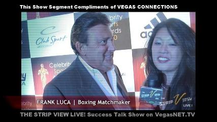 Frank Luca Interview I | Celebrity Sports Awards | Palms Casino Resort | VegasNET.tv | PopScreen