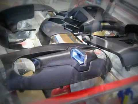 CAR WRAPPING - RENAULT TWIZY Carbonio | PopScreen