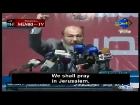Jerusalem to Become Egypt's Capital Under Mursi's Rule Says idiot Islamic Cleric. | PopScreen