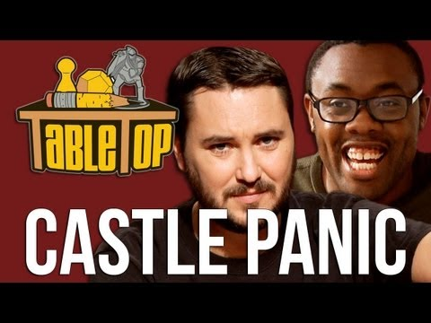 Castle Panic: Yuri Lowenthal, Tara Platt and Andre the Black Nerd join Wil Wheaton on TableTop, Ep 6 | PopScreen