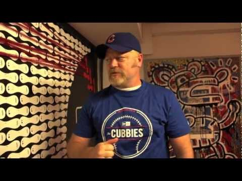 Nick Offerman Visits the MLB Fan Cave | PopScreen