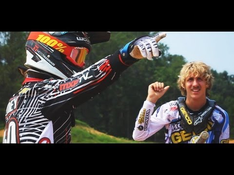Justin Barcia / Tyler Wozney - Barcia Compound (MXPTV) | PopScreen