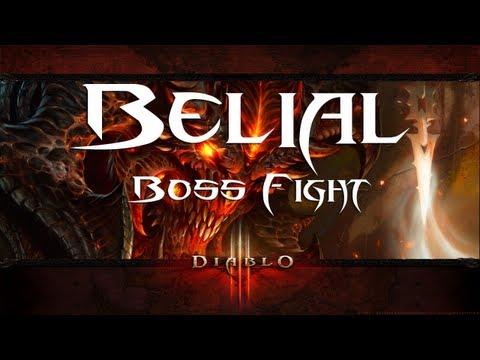 diablo 3 belial boss fight demon hunter normal mode diablo