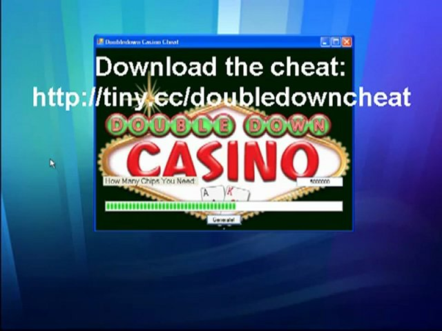 DoubleDown Casino Hack 2012 FREE Download For Chips [DoubleDown Casion