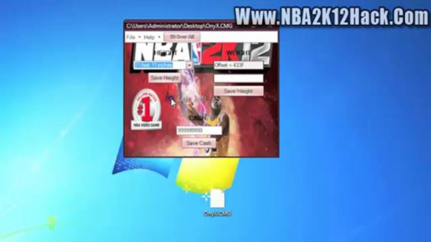 Nba 2k12 my player 99 overall hack free unlimited skill points