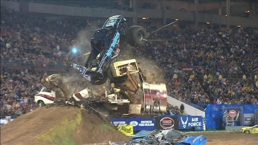 Monster Jam Freestyle _ Minneapolis Freestyle | PopScreen