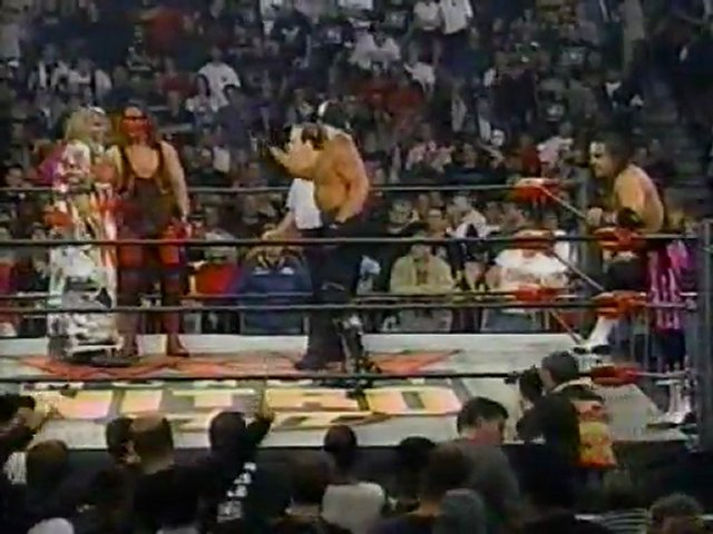 Sting & Ultimate Warrior vs. Hulk Hogan & Bret Hart ...