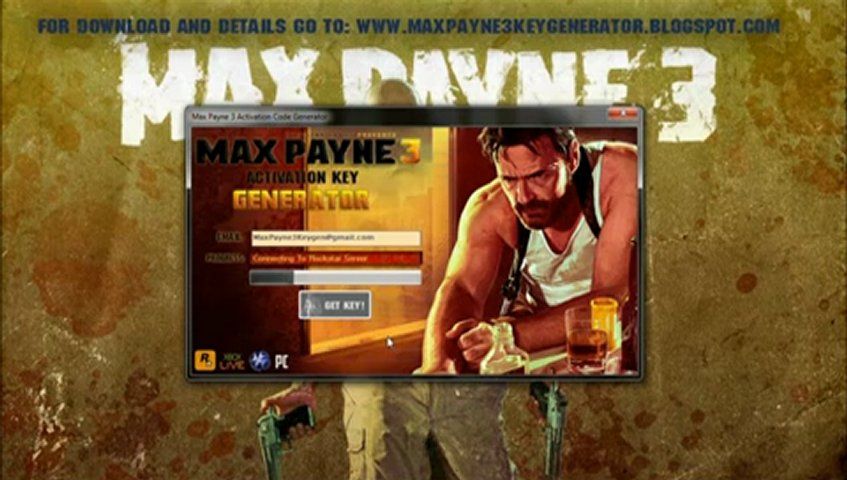 Max Payne 3 CDKey Generator Generate Your Own Key - Serial Key Activation