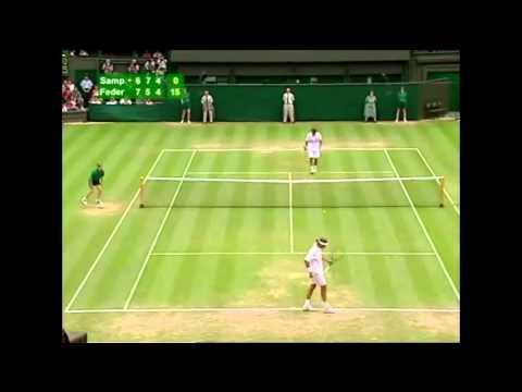 Federer - Sampras Wimbledon 2001 Part 1 | PopScreen