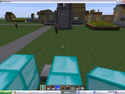 Cum sa faci un tun cu TNT in minecraft.avi | PopScreen