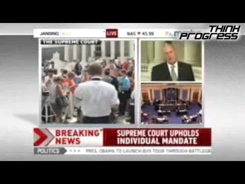 Sen. Coates on Health Care Ruling | PopScreen