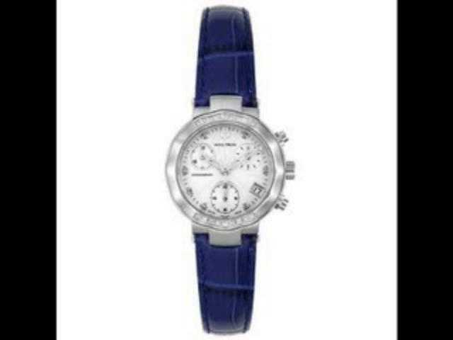 Accutron Women's 26R26 Diamond Chronograph Watch | PopScreen