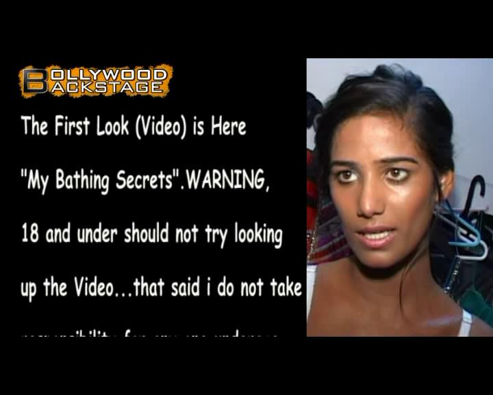 Poonam Pandey's RAUNCHY bathing video