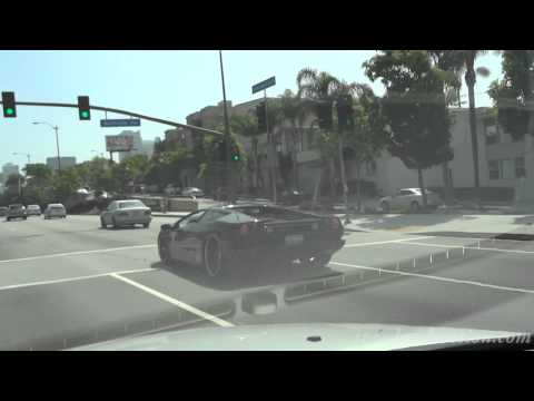 Exotic Spotting - Lamborghini Performante and Diablo, Porsche 930 Slantnose, Ferrari 360