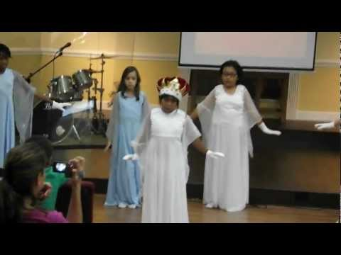We Shall Behold Him Praise Dance, Trinitas Academy June 2012 | PopScreen
