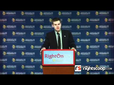 Guy Benson at Right Online 2012