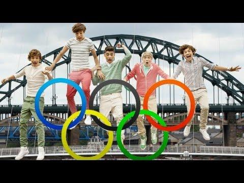 One Direction En Las Olimpiadas En Londres 2012   PopScreen