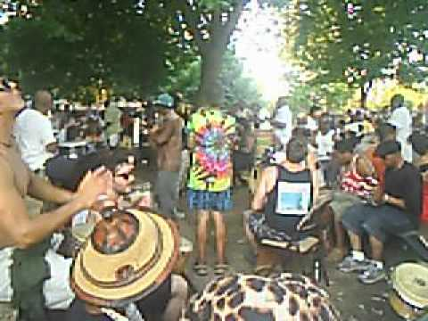 Malcolm X Park Drum Circle and Dancers 1 Jul 12 13 | PopScreen