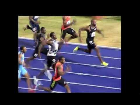 Usain Bolt finishes second in Olympic trial | PopScreen