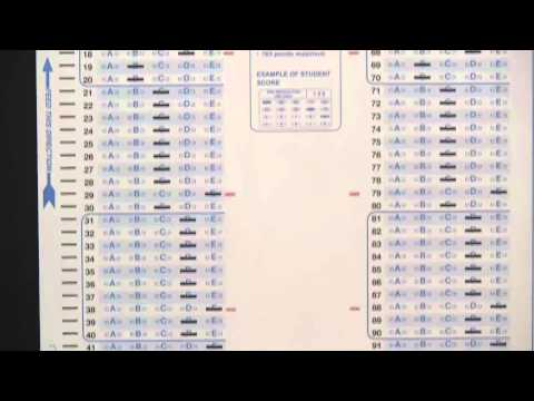 Testing Your Scantron Score