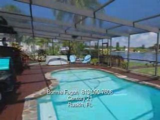 tampa florida waterfront pool home popscreen