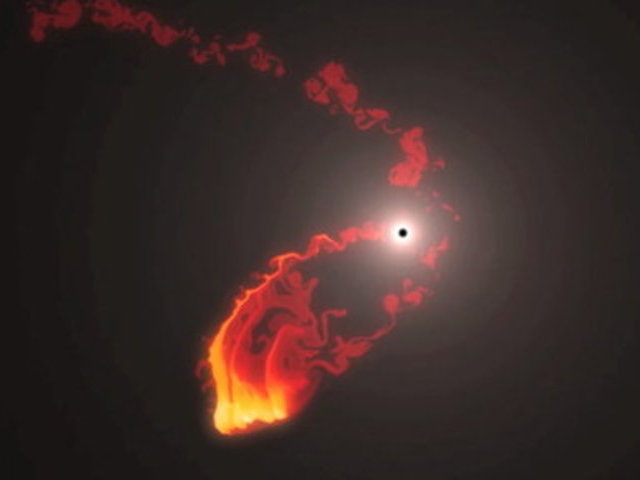 Colossal cosmic collision coming this year at center of ...