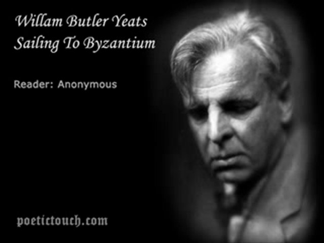 sayling to byzantium Byzantium by william butler yeats: summary and poem byzantium is a description of the city bearing that name, but it is also a symbol of paradise as well as purgatory.