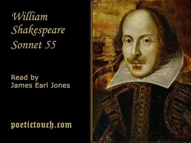 an analysis of the sonnet 55 by william shakespeare Study guide, translation, and analysis for shakespeare's sonnet 3 called look in thy glass, and tell the face thou viewest.