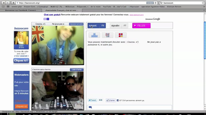 Chatroulette rencontre france