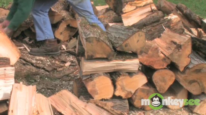 how to cut up a tree for firewood