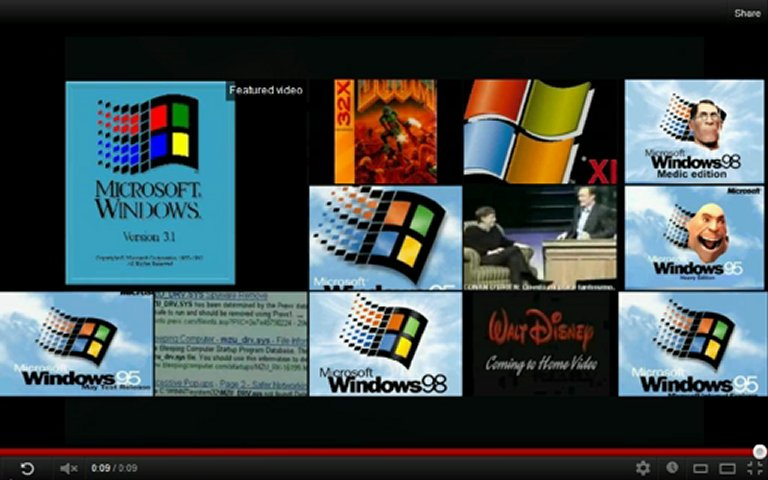 Windows 98 startup sound