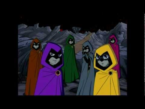 Teen titans ravens dad