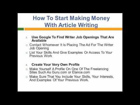 how to make money writing taglines