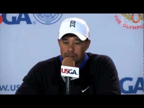 Tiger Woods - Looking forward to The US Open | PopScreen