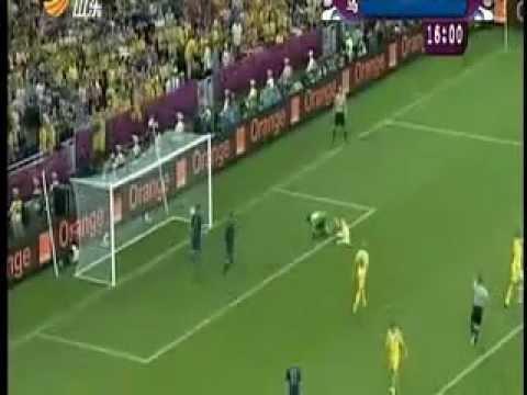 Francia la victoria 2_0 acogida Ucrania 06.16.2012 Europea los partidos de fútbol | PopScreen