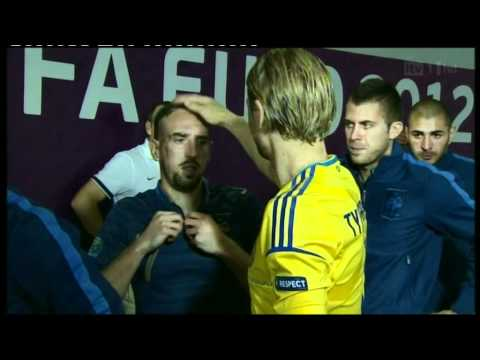 Euro 2012 - France Vs. Ukraine - Ribery Vs. Tymoshchuk | PopScreen