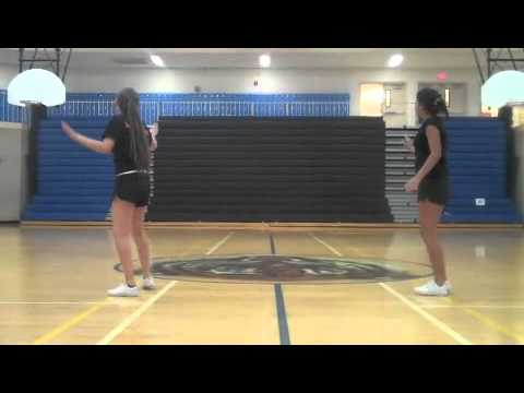 Von Tobel cheer dance for tryouts2012
