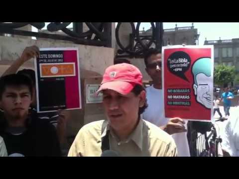Entrevista Tercera Marcha #YoSoy132 | PopScreen