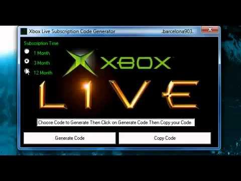 mediafire xbox live code generator 2015