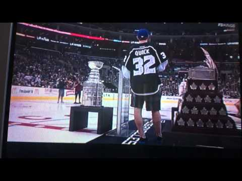 Jonathan Quick Drops F Bombs on live TV | PopScreen