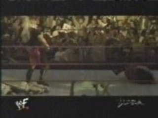 WWF- Triple HHH ATTACKS Kane