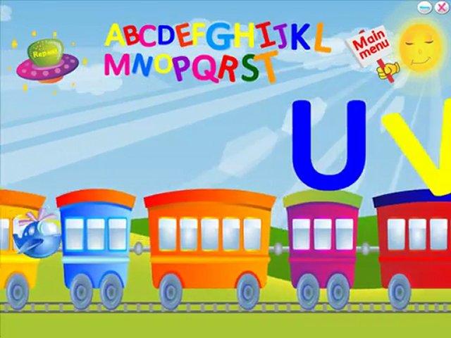 تعليم الانجليزية للاطفال -  أغنية abc قطار الحروف learn english for kids | PopScreen