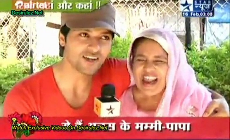Miliye Suraj Ke Mom & Dad Se ''Diya Baati Aur Hum'' 16th February 2012 | PopScreen